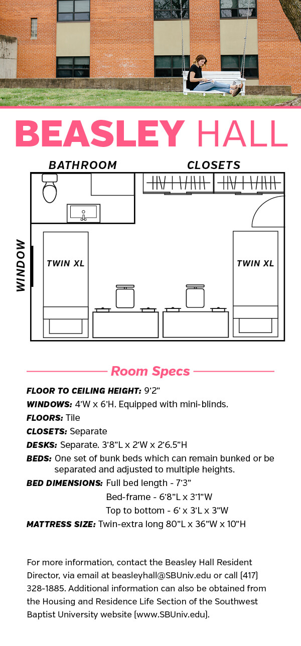 Beasley Hall Floor Plan