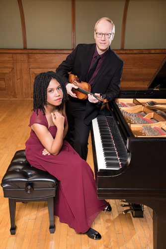 Duo MemDi will be the guest artist of the William and Kathy Brown Series.