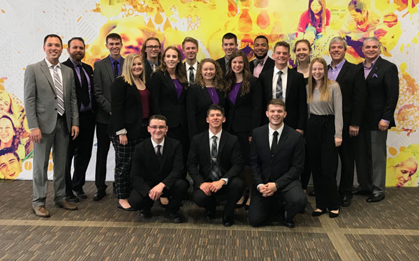 The SBU Enactus team finished in the top 32 at the National Exposition.