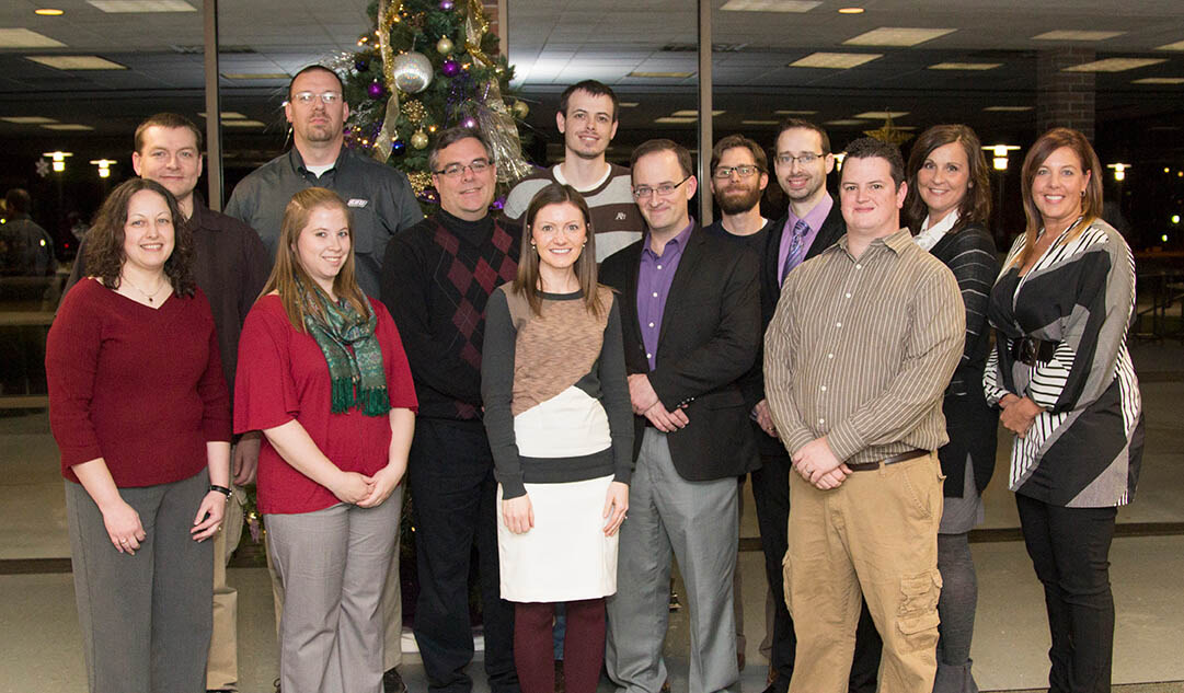 SBU honored employees with five years of service to the university