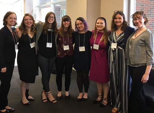 SBU honors students gave presentations at the OTC Honors Conference.