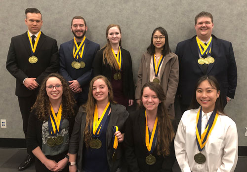 SBU's PBL team qualified nine students for nationals.