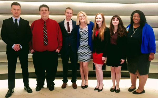 SBU PBL students competed at nationals.