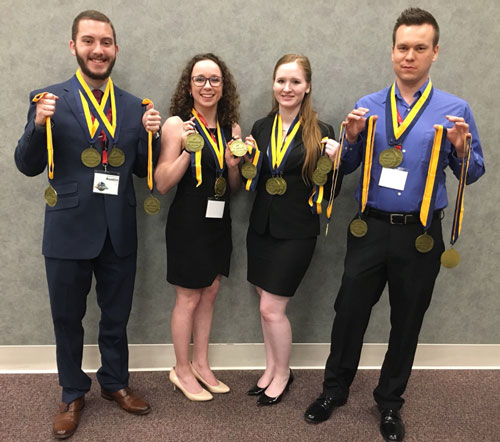 SBU PBL qualifies eight for nationals.