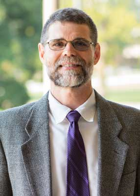 Dr. Steve Bowling worked with disaster relief in North Carolina.