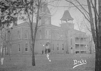 SBU's original administration building, photograph taken in 1881