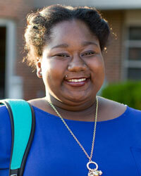 Tylinia Smith, current SBU student