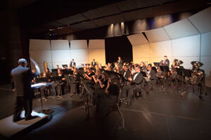 SBU has more than 15 music performance ensembles