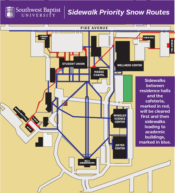 California Baptist University Campus Map.Plan For Inclement Weather Conditions Delayed Start Schedule